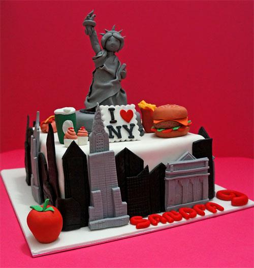 New York Cake Fondant